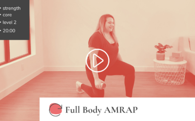 Cardio Booster: Full Body AMRAP