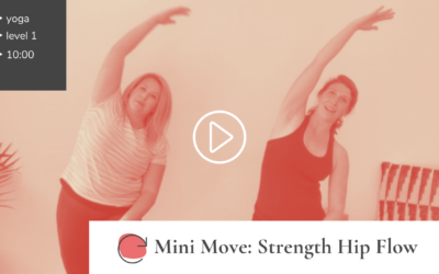 Mini Restore: Standing Hip Flow