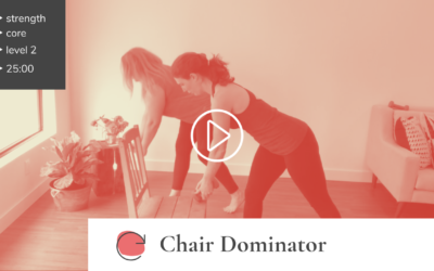 Chair Dominator Dumbbell Workout