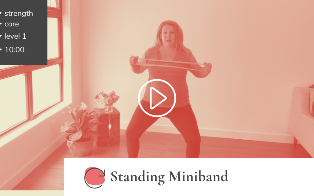All-Standing Mini-Band Workout