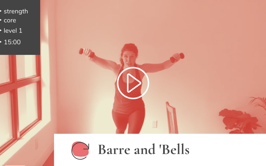 Barre and 'Bells Ballet Workout
