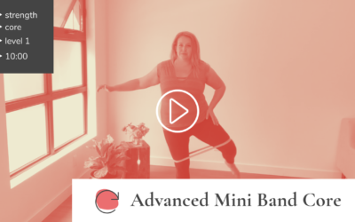 Advanced Miniband Core Workout