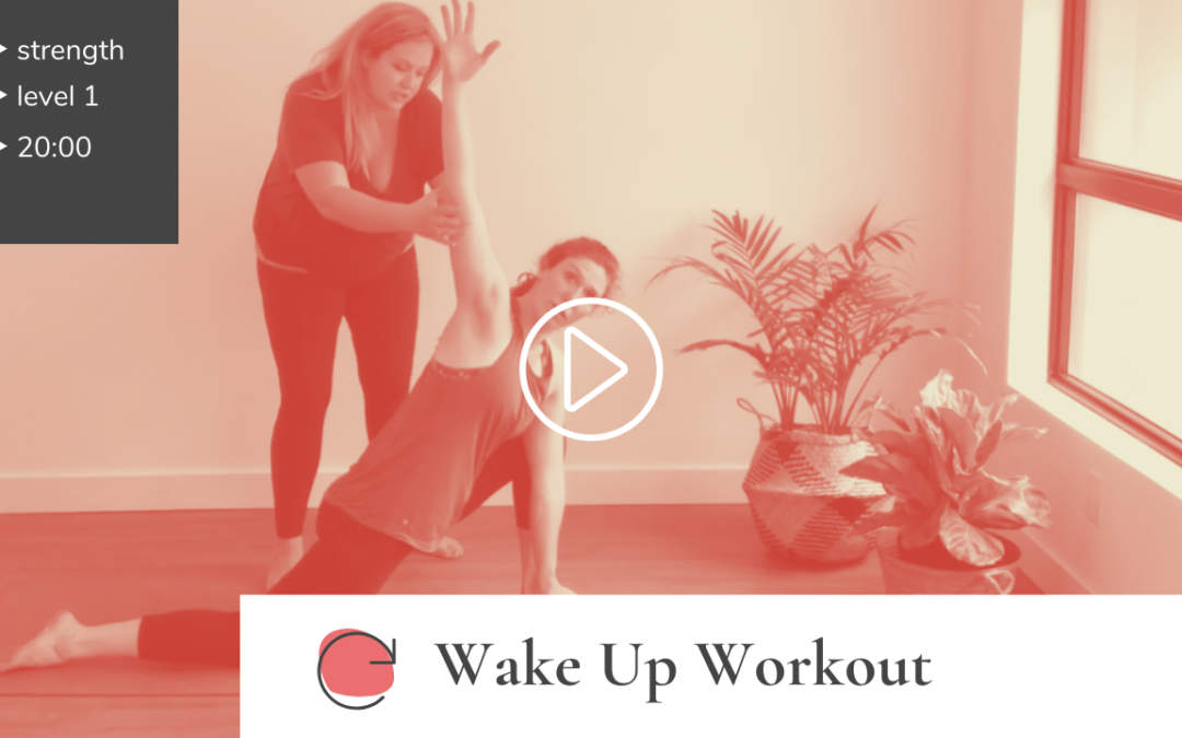 "Full-Body ""Wakeup Workout"""