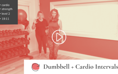 Dumbbell Strength + Cardio Intervals