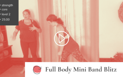 Full Body Mini Band Blitz