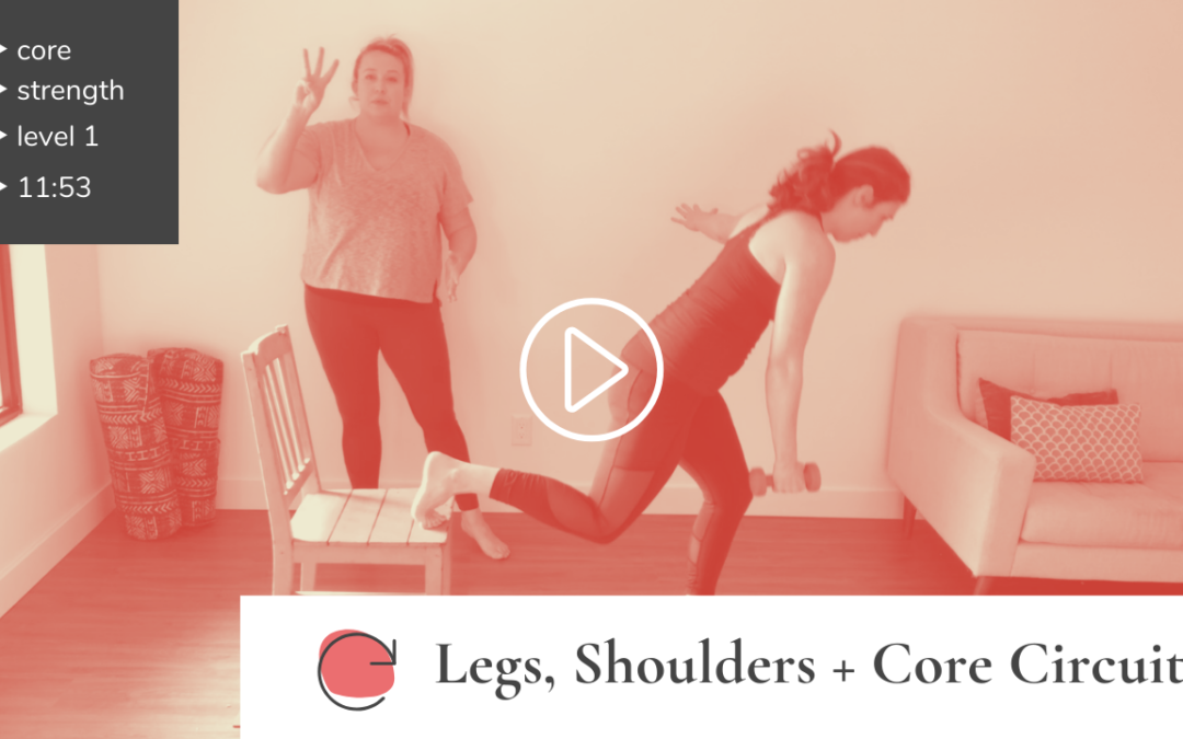 Circuit Series: Legs, Shoulders + Core