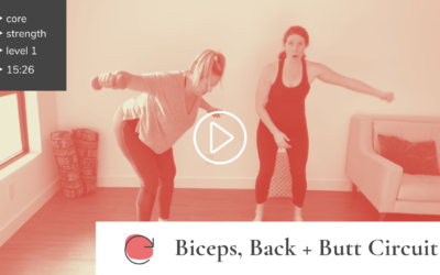 Circuit Series: Biceps, Back + Butt