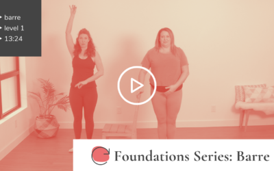 Foundations: Barre