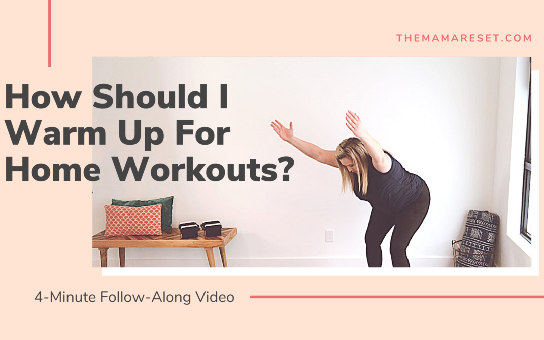 4-Minute Full-Body Warmup For Moms [Video]