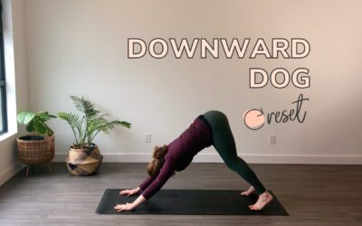 How to Do Downward Dog in Postpartum