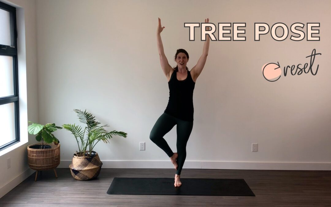 How to Do the Tree Pose Correctly in Postpartum