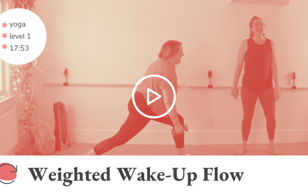 Weighted Wake-Up Flow