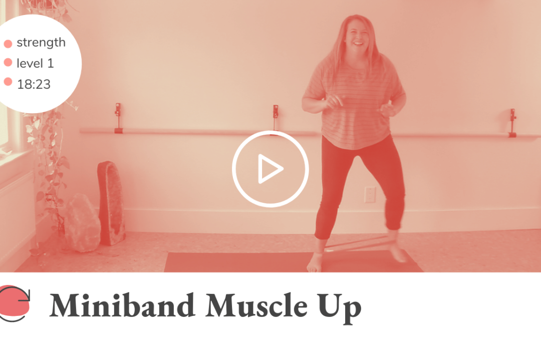 Miniband Muscle Up